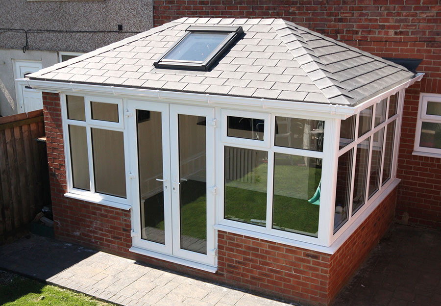 Tiled Solid Conservatory Roof Crendon Conservatories