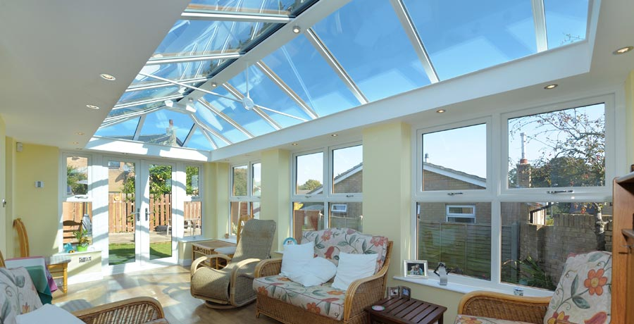 LivinRoom - Modern replacement conservatory option