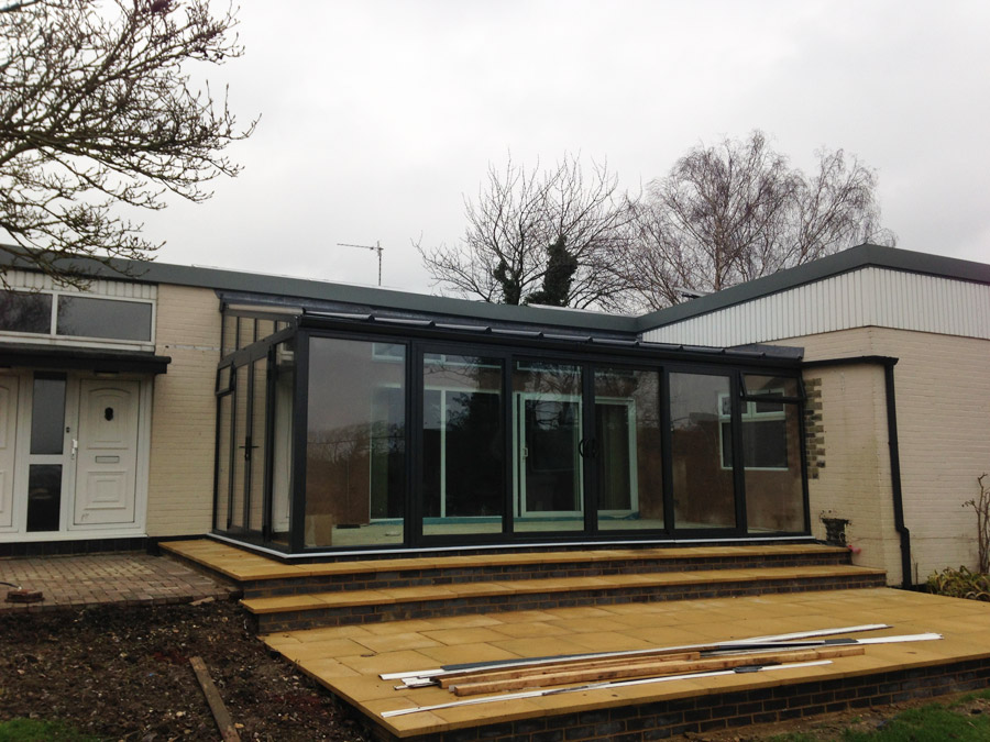Modern Glass Extensions modern conservatory case studies | crendon conservatories | modern