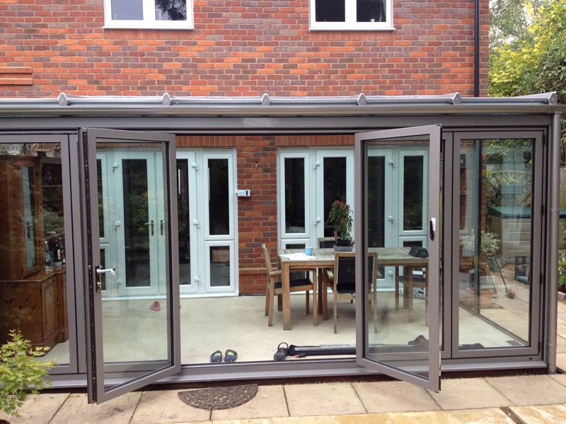Modern Contemporary Glass Extension In Princes Risborough