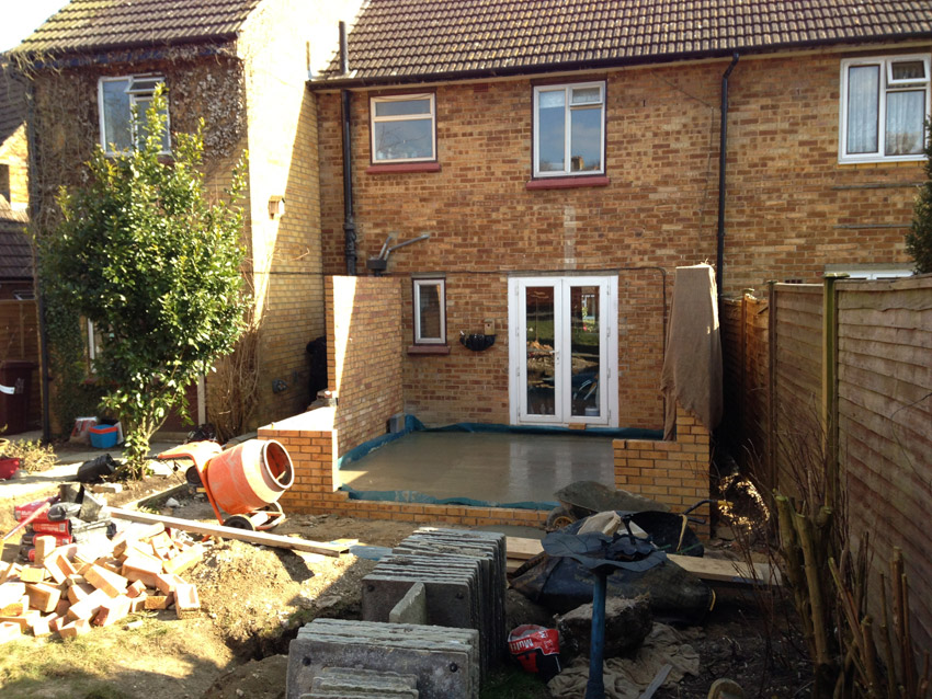 Edwardian Style Cross Over Extension in Long Crendon