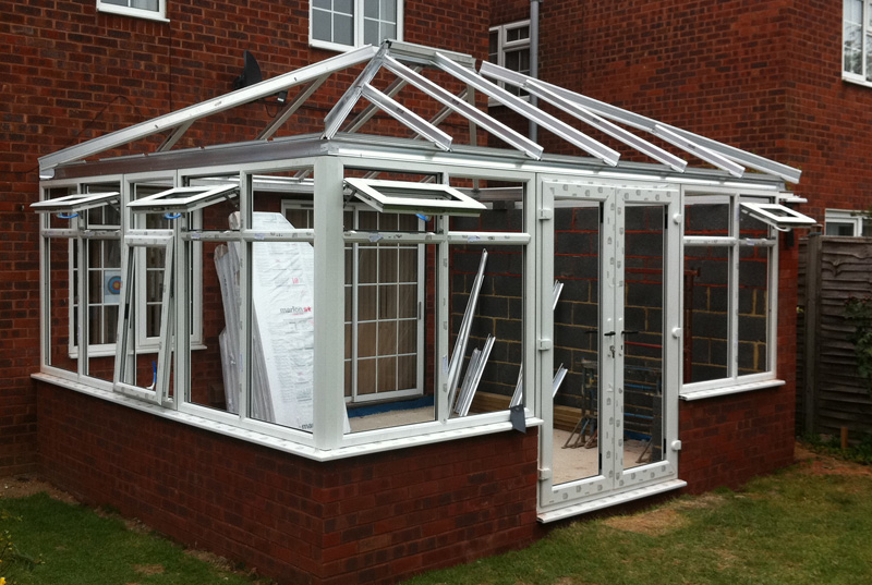 Large Edwardian Conservatory In Aylesbury Crendon