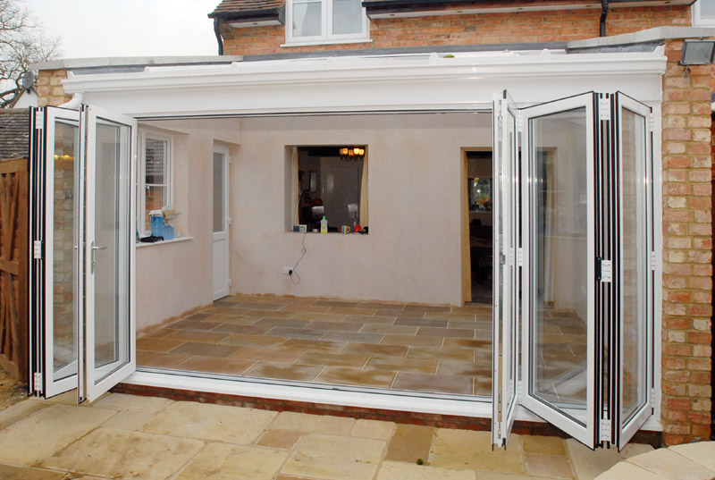 Lean-To With Parapet Wall in Sydenham | Crendon Conservatories ...