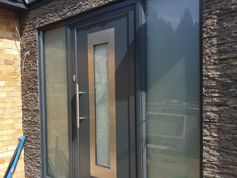 Contemporary front door for customer in Horsepath, Oxfordshire