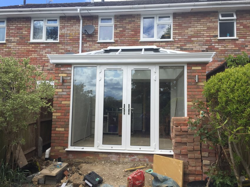 Aluminium Edwardian with Livin Room Section in Tring