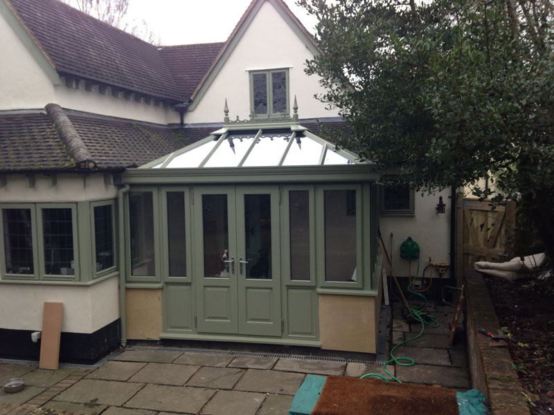 Conservatory case studies crendon conservatories for Lean to extension ideas