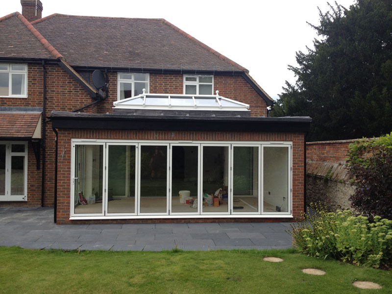 Bi-Folding Doors, Patio Doors and Lantern Roof in Thame ...
