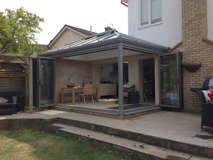 Livin Room Style Glass Extension in Long Crendon