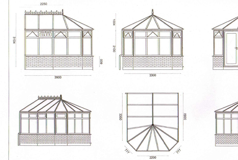 Victorian Conservatory in Aylesbury