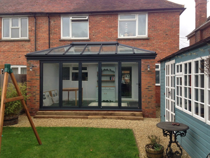Livin Room Style Aluminium Extension In Thame Crendon