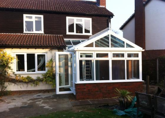 Gable Ended Conservatory in Haddenham