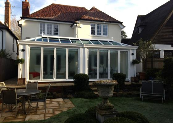 Loggia/Livin Room style extension in Gerrards Cross