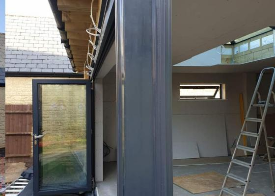 Origin Windows and Bi-Folding doors installed at property in Carterton, Oxfordshire