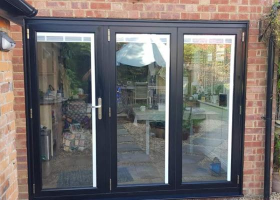 Origin bi-folding doors installed at property in Cholsey, Oxfordshire