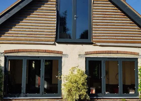 Modern Origin windows and doors in Wallingford, Oxfordshire