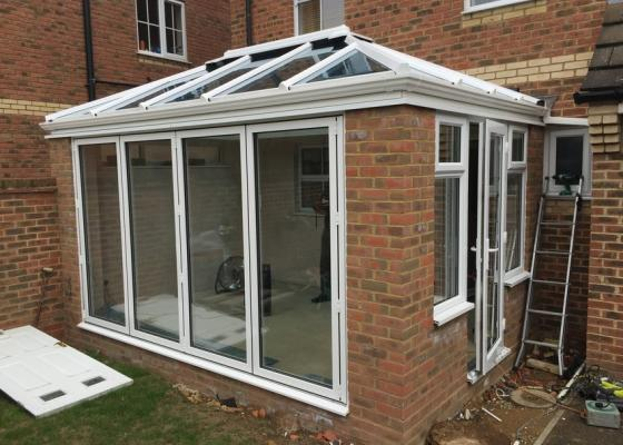 Aluminium Edwardian with Livin Room Section in Aylesbury