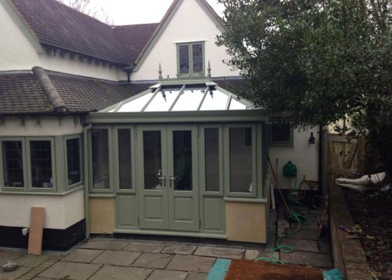 Edwardian Conservatory in Surrey