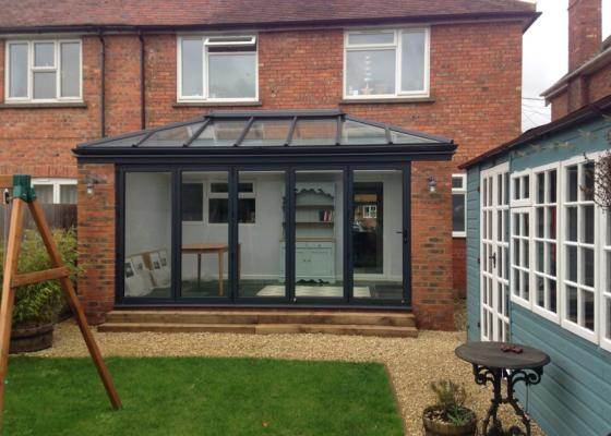 Livin Room Style Aluminium Extension in Thame