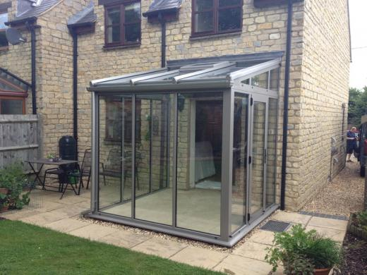 Modern Minimal Glass Extension In Brackley Crendon