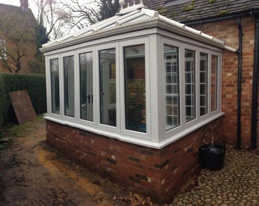 Traditional Edwardian Conservatory in Mentmore
