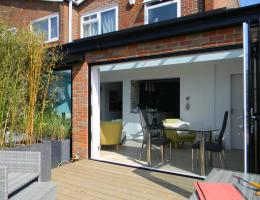 Livin Room Style Aluminium Extension in Prestwood, Bucks