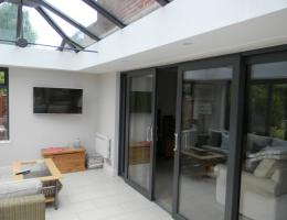 Livin Room Style Cross Over Extension in Brightwell-cum-Sotwell, Oxon