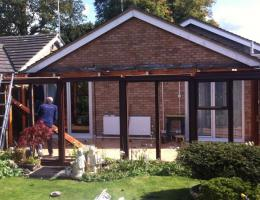 Large Lean-To Conservatory in Towersey
