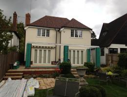 Loggia/Livin Room style extension in Gerrards Cross
