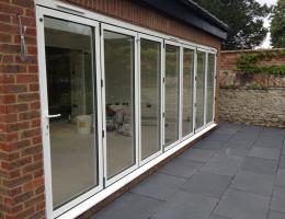 Bi-Folding Doors, Patio Doors and Lantern Roof in Thame